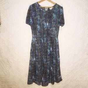 Lularoe Amelia Peacock Dress
